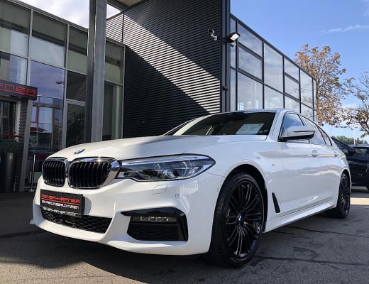 BMW 520d xDrive Aut. M-Paket, 32% NL, ACC, Memory, Hifi, Glas Dach bei CarPort || Meyer-Hafner in