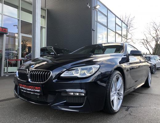 BMW 640d Gran Coupé Aut. M-Sport Paket, NP € 132.888,– NL-57%, Soft Close, HIFI, Surround View bei CarPort || Meyer-Hafner in