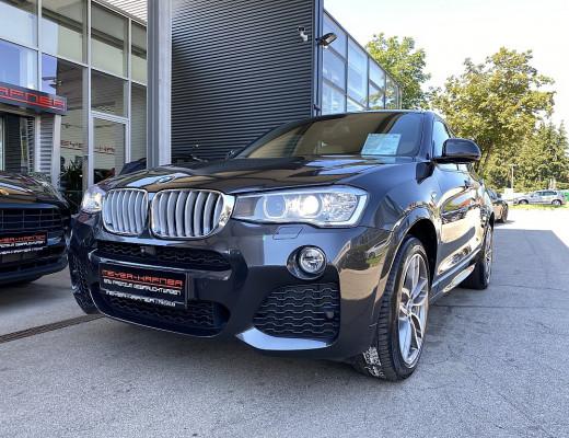 BMW X4 xDrive 35d M-Paket Aut., Xenon, SHZ, Head-Up, Navi-Pro, Kamera 19 Zoll bei CarPort || Meyer-Hafner in