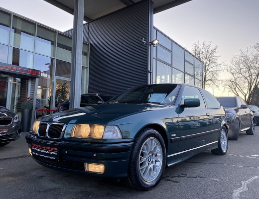BMW 323i TI Compact E36 Exclusiv-Edit. Aut. Youngtimer Rarität, nur 21.000KM, EINMALIG!!! bei CarPort || Meyer-Hafner in