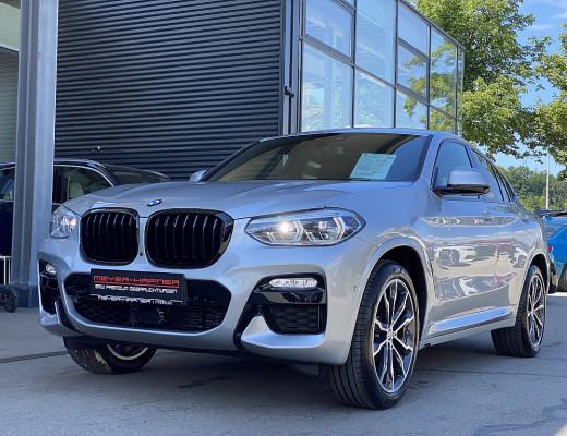 BMW X4 xDrive 20d Aut., HiFi, Navi-Pro, LED, Modell M-Sport, LKHZ, AHK, 20 Zoll, NL-23% bei CarPort || Meyer-Hafner in