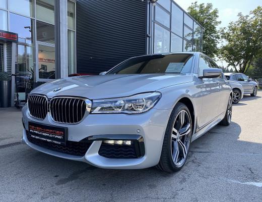 BMW 730d xDrive Aut., M-Paket, LED, HiFi, Head-Up, Glasdach, Kamera, 20 Zoll, NL-55% bei CarPort || Meyer-Hafner in