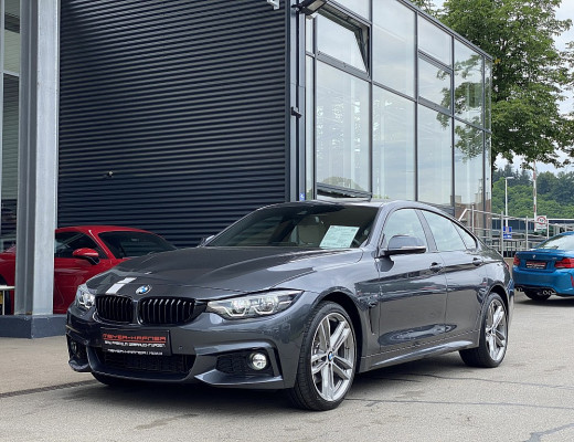 BMW 440i xDrive Gran Coupe Aut., M-Paket, HiFi, LED, Kamera, 19 Zoll, NL-41,5% bei CarPort || Meyer-Hafner in