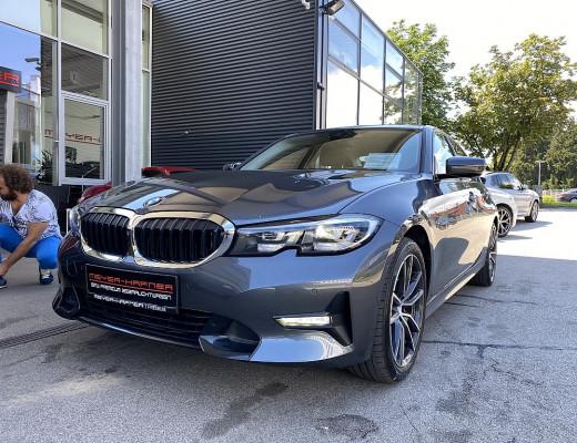BMW 320i Aut., Sport Line,18 Zoll, M-Lederlenkr., NL-35% bei CarPort || Meyer-Hafner in