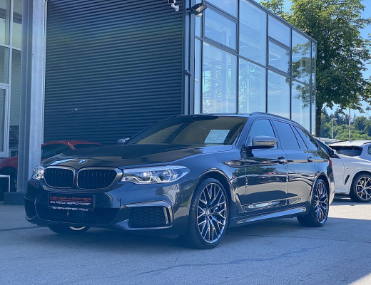 BMW M550d xDrive, LKHZ, LED, Navi-Pro, Head-Up, Harman Kardon, 20 Zoll, NL-50% bei CarPort || Meyer-Hafner in