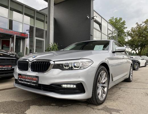 BMW 520d Aut., Navi, LED, Kamera, Sport Line, M-Sportlederlenkr, 18 Zoll, NL-45% bei CarPort || Meyer-Hafner in
