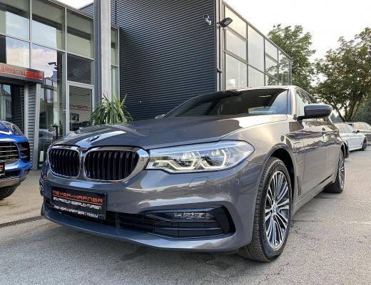 BMW 530e xDrive Aut., LED, LKHZ, M-Lederlenkr., 18 Zoll, NL-43,5% bei CarPort || Meyer-Hafner in