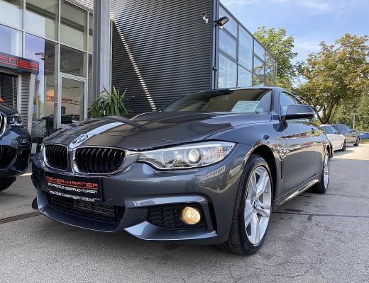 BMW 420d xDrive Coupe M-Paket Aut., Head-Up, Hifi, Glasdach, Navi, Kamera, 18″, NL-50% bei CarPort || Meyer-Hafner in