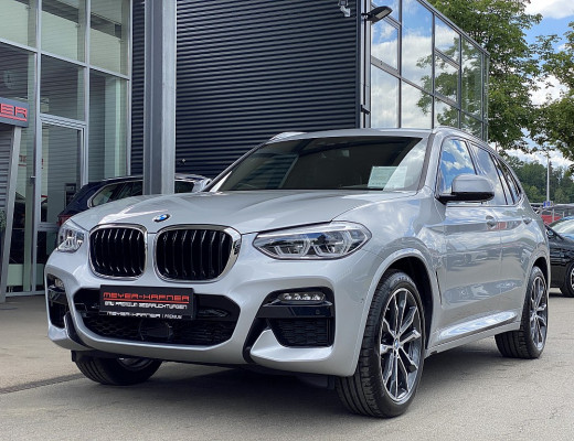 BMW X3 xDrive 20d Aut., LED, Head-Up, HiFi, M-Sport Modell, AHK, NL-20% X3 xDrive20d Aut., LED, HiFi, AHK, 20 Zoll, NL-23% bei CarPort || Meyer-Hafner in