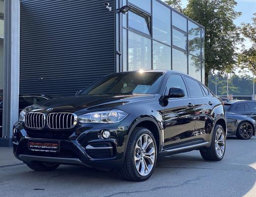 BMW X6 xDrive40d Sport Activity Coupé Österreich-Paket Aut., 20″, LKHZ, Kamera, LED, Navi-Pro, Harman Kardon, STHZ bei CarPort || Meyer-Hafner in