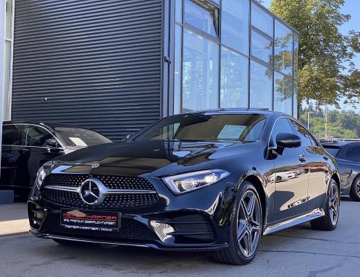Mercedes-Benz CLS 400 d 4MATIC AMG Line Aut., LED, KEYLESS-GO, Kamera, SBL, Schiebedach bei CarPort || Meyer-Hafner in