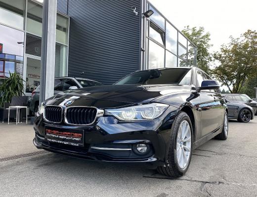 BMW 316d Touring Sport Line Aut., SHZ, M-Lederlenkr., LED, Navi bei CarPort    Meyer-Hafner in