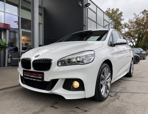 BMW 218d xDrive Active Tourer M-Paket Aut., Kamera, ISOFIX, LED, AHK, 18″ bei CarPort || Meyer-Hafner in