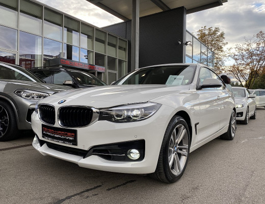 BMW 320i Gran Turismo Sport Line Aut., Kamera, Navi, SHZ, 18″ bei CarPort || Meyer-Hafner in