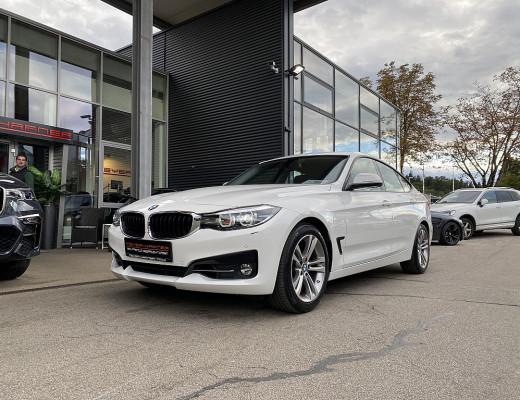 BMW 320i Gran Turismo Sport Line Aut., LED, Kamera, Navi bei CarPort || Meyer-Hafner in