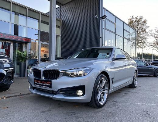 BMW 320d Gran Turismo Sport Line Aut., LED, Kamera, Navi, SHZ, 17″ bei CarPort || Meyer-Hafner in