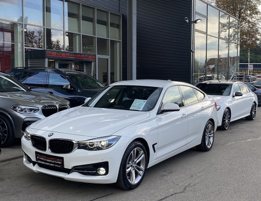 BMW 320d Gran Turismo Sport Line Aut., Kamera, LED, Navi, SHZ bei CarPort || Meyer-Hafner in