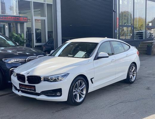 BMW 320d Gran Turismo Sport Line Aut.,MH300 Kamera, Navi, LED bei CarPort || Meyer-Hafner in