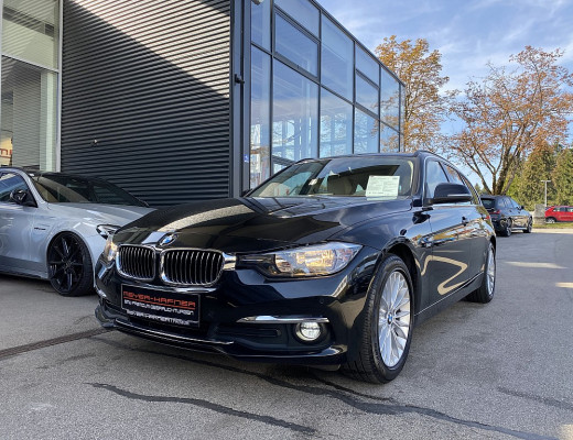 BMW 320d Touring Luxury Line Aut., Navi-Pro bei CarPort || Meyer-Hafner in