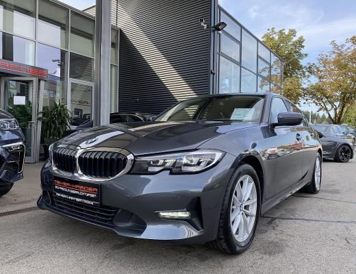 BMW 320d xDrive Limousine Aut., HiFi, LED, Navi, Kamera, SHZ bei CarPort || Meyer-Hafner in