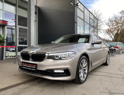 BMW 520i Limousine Sport Line Aut., Kamera, Navi, LED, SHZ, 18″ bei CarPort || Meyer-Hafner in