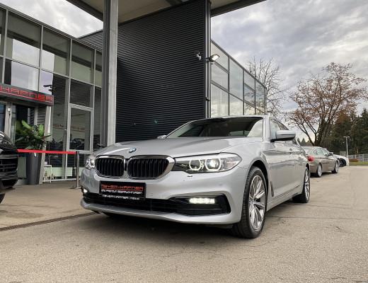 BMW 520i Limousine Sport Line Aut., Kamera, Navi, LED, 18″ bei CarPort || Meyer-Hafner in