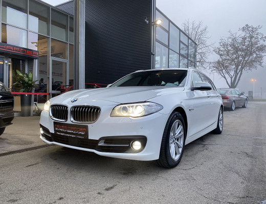 BMW 530d Österreich-Paket Touring Aut., Navi-Pro, Harman Kardon, Head-Up, SBL bei CarPort || Meyer-Hafner in