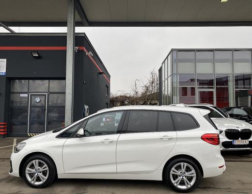 BMW 218i Gran Tourer Aut., 7-Sitzer, LED, Navi, Kamera, Pano-Glasdach bei CarPort || Meyer-Hafner in