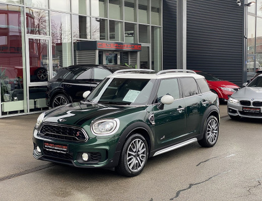 Mini MINI Countryman Cooper SD ALL4 Aut., 18″, Kamera, Head-Up, Navi-Pro, Glasdach bei CarPort || Meyer-Hafner in