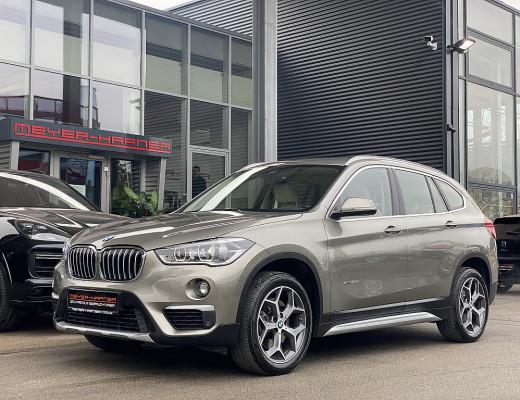 BMW X1 xDrive20d xLine, Navi, Kamera, LED, AHK, 18″ bei CarPort || Meyer-Hafner in