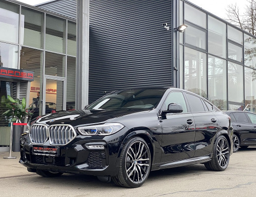 BMW X6 xDrive40d 48V M-Paket Aut., AHK, Harman Kardon, SBL, Laserlight, Pano bei CarPort || Meyer-Hafner in