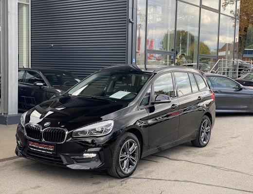 BMW 218d Gran Tourer Sport Line Aut. FACELIFT!!!, AHK, Kamera bei CarPort    Meyer-Hafner in