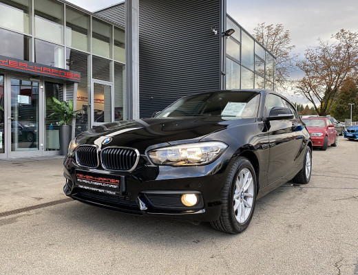 BMW 116d Advantage Aut., Kamera, Navi bei CarPort || Meyer-Hafner in