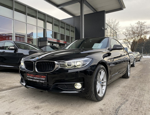BMW 320d Gran Turismo Aut., 18″, Kamera, LED, Navi, SHZ bei CarPort || Meyer-Hafner in