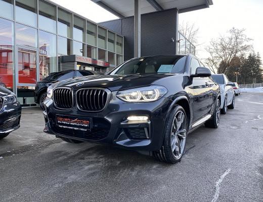 BMW X4 M40d Aut., AHK, Pano, Head-Up, Harman Kardon, 21″ bei CarPort || Meyer-Hafner in