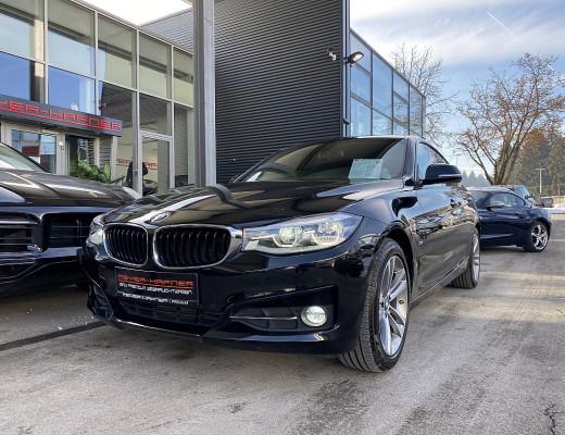 BMW 320d Gran Turismo Sport Line Aut., LED, HiFi, Navi-Pro, 18″ bei CarPort    Meyer-Hafner in