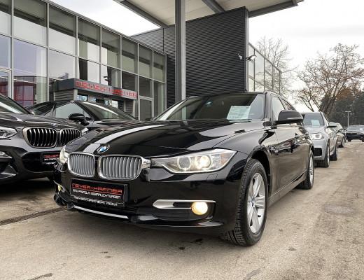 BMW 320d xDrive Touring Aut., SHZ, Sport-Lederlenkrad bei CarPort    Meyer-Hafner in