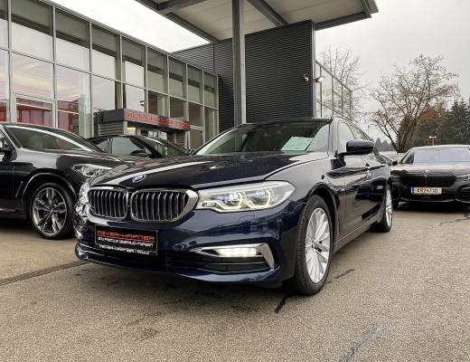 BMW 530d xDrive Touring Luxury Line Aut., LED, Harman Kardon, Navi-Pro, SBL, STHZ, LKHZ, 18″ bei CarPort || Meyer-Hafner in