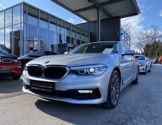 BMW 520i Sport Line Limousine Aut., 6.100KM, HiFi, Kamera, Komfortzugang, 18″ bei CarPort || Meyer-Hafner in