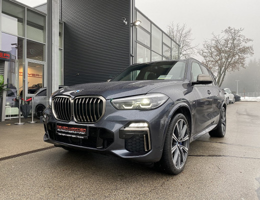 BMW X5 M50d Aut., Pano, M Sportbremse & Abgasanlage, Harman Kardon, Memory,  22″ bei CarPort || Meyer-Hafner in