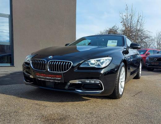 BMW 640d xDrive Coupé Aut., Navi-Pro, Glasdach, SZBL, 18″ bei CarPort || Meyer-Hafner in