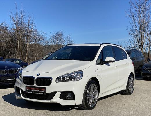 BMW 225xe PHEV Active Tourer M-Paket Aut., Pano, Glasdach, LED, HiFi, Head-Up, Kamera, 18″ bei CarPort || Meyer-Hafner in