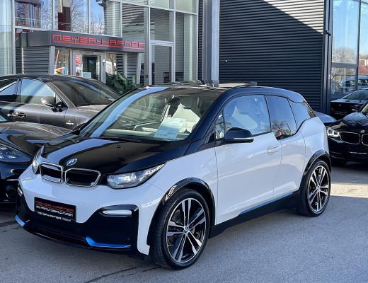 BMW i3 S 94 Ah eDrive, Kamera, Glasdach, Navi-Pro, 20″ bei CarPort || Meyer-Hafner in