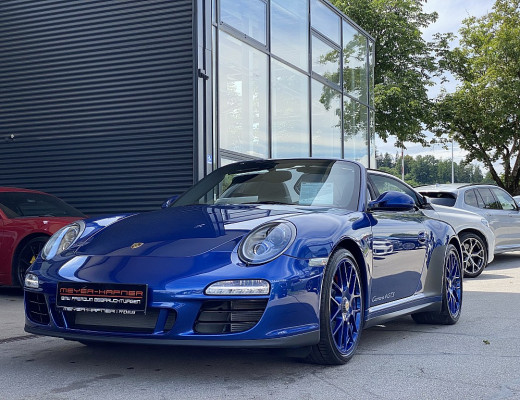 Porsche 911 Carrera 4 GTS Cabrio PDK bei CarPort || Meyer-Hafner in