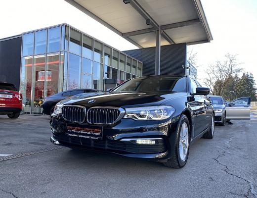 BMW 520d xDrive Limousine Aut., STHZ, LKHZ, LED, Navi-Pro, SZBL bei CarPort || Meyer-Hafner in