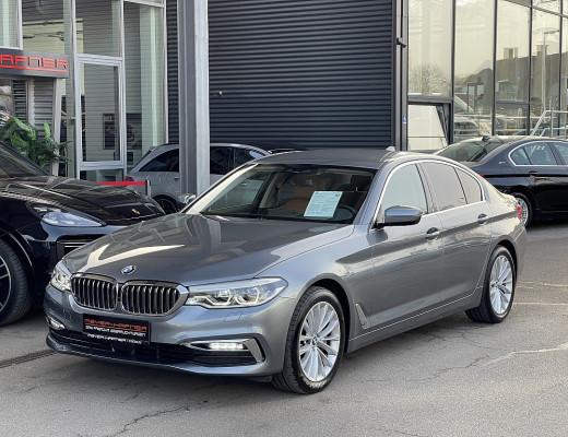 BMW 530d xDrive Limousine Luxury Line Aut., LKHZ, STHZ, AHK, LED, Navi-Pro, HiFi, Head-Up, Memory, 18″ bei CarPort || Meyer-Hafner in