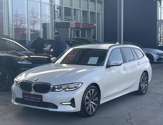 BMW 320d xDrive Touring Aut., LED, HiFi, Navi bei CarPort || Meyer-Hafner in