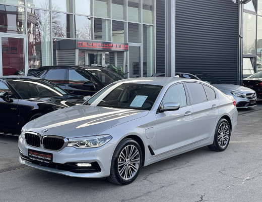 BMW 530e xDrive Limousine Sport Line Aut., HiFi, Head-Up, LED, Navi, Memory, bei CarPort || Meyer-Hafner in