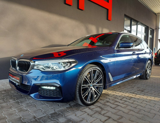 BMW 540d xDrive Touring M-Paket Aut., AHK, Harman Kardon, Massage, Pano, STHZ, 20″ bei CarPort || Meyer-Hafner in