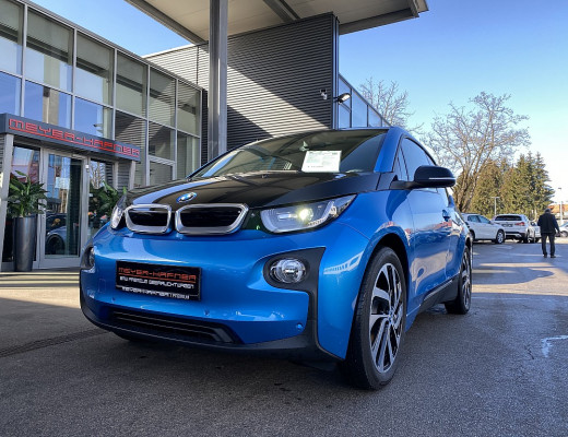 BMW i3 94 Ah eDrive (mit Batterie), LED, Navi-Pro, Kamera, 19″ bei CarPort || Meyer-Hafner in